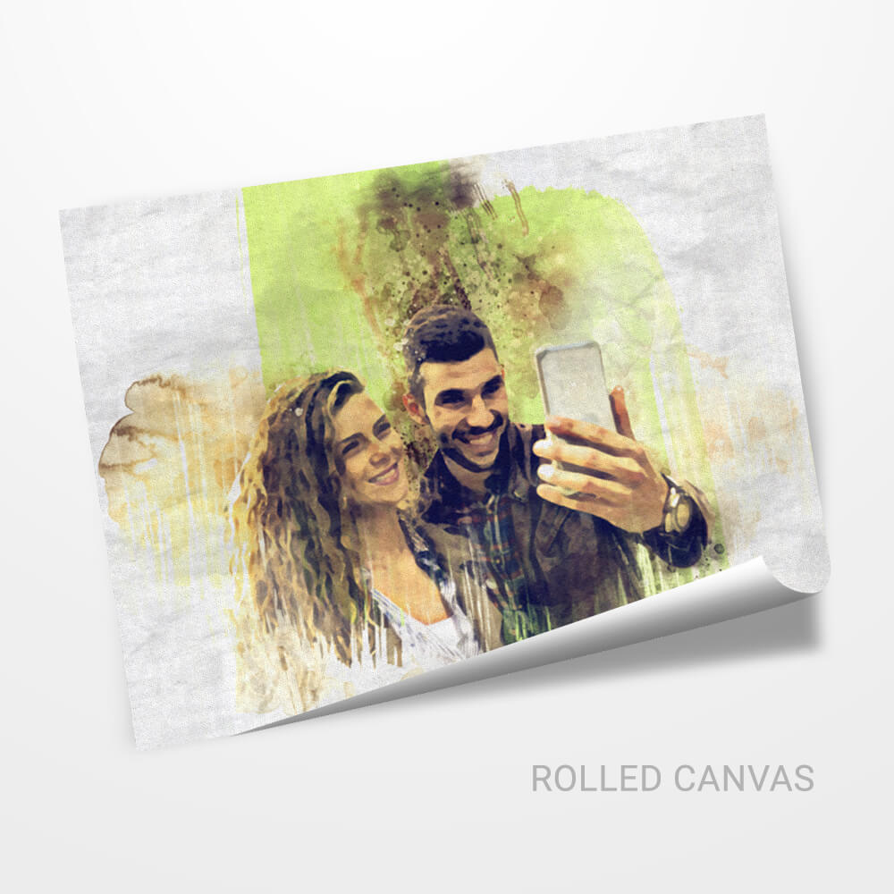 Personalized Artistic Water Color Effect