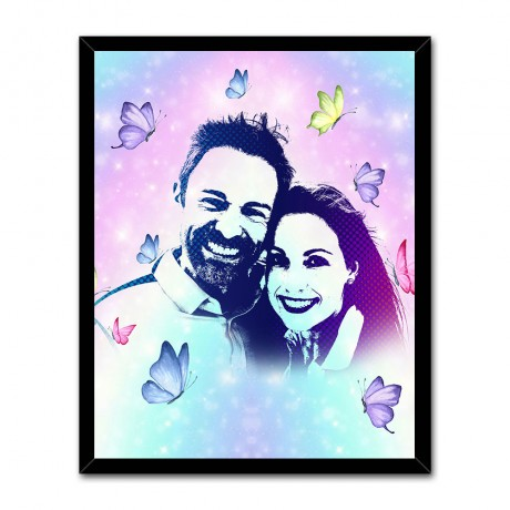 Personalized Butterflies Effect Abstract