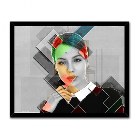 Personalized Collage Graphic Poster Effect