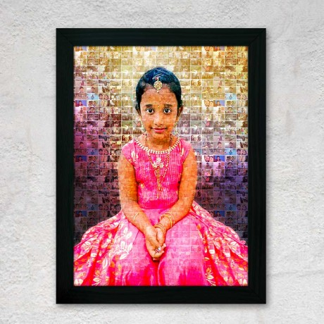 Personalized Mosaic Art With Photos
