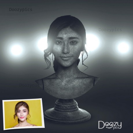 Personalized Statue Effect
