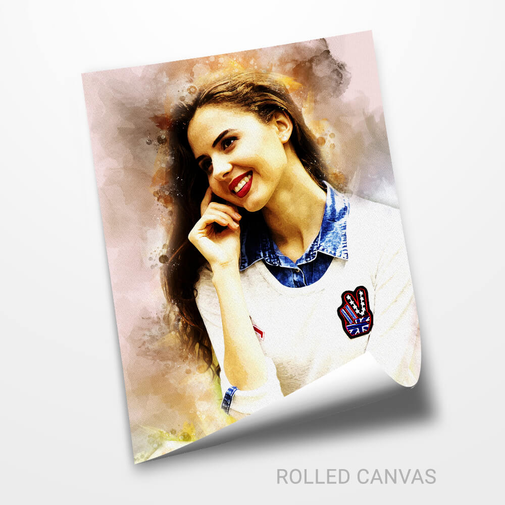 Personalized Watercolor Effect