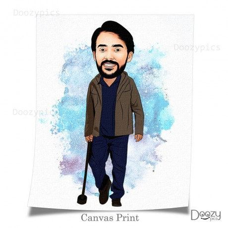 Ajith Nerkonda Paarvai Movie Caricature Art