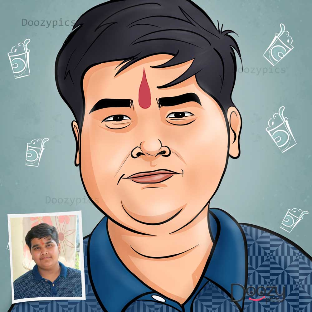 Single Caricature Art