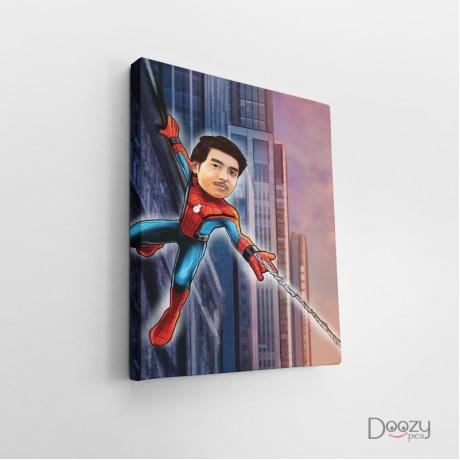 Spider Man Caricature Art