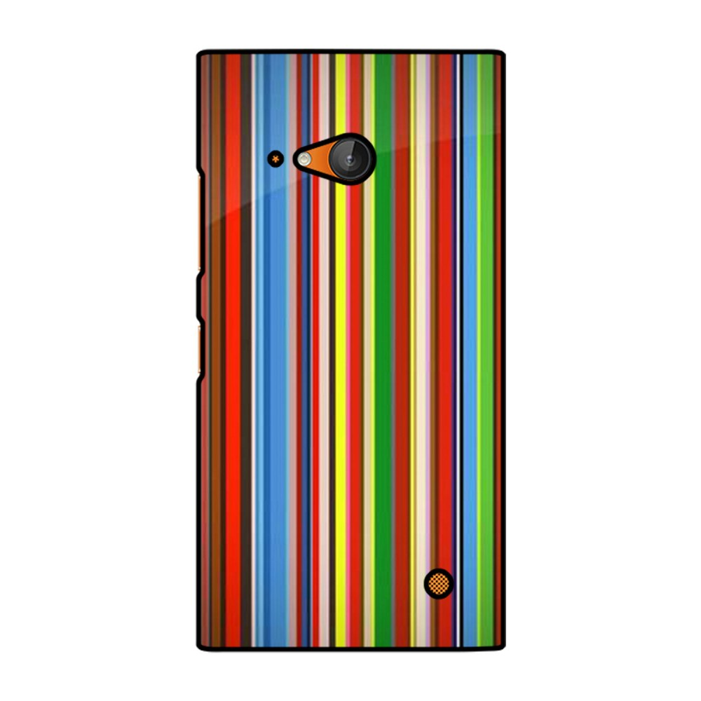 Lines Pattern Printed Nokia Mobile Case