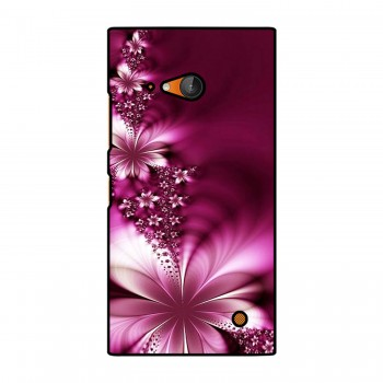 Pink Flower Printed Nokia Mobile Case