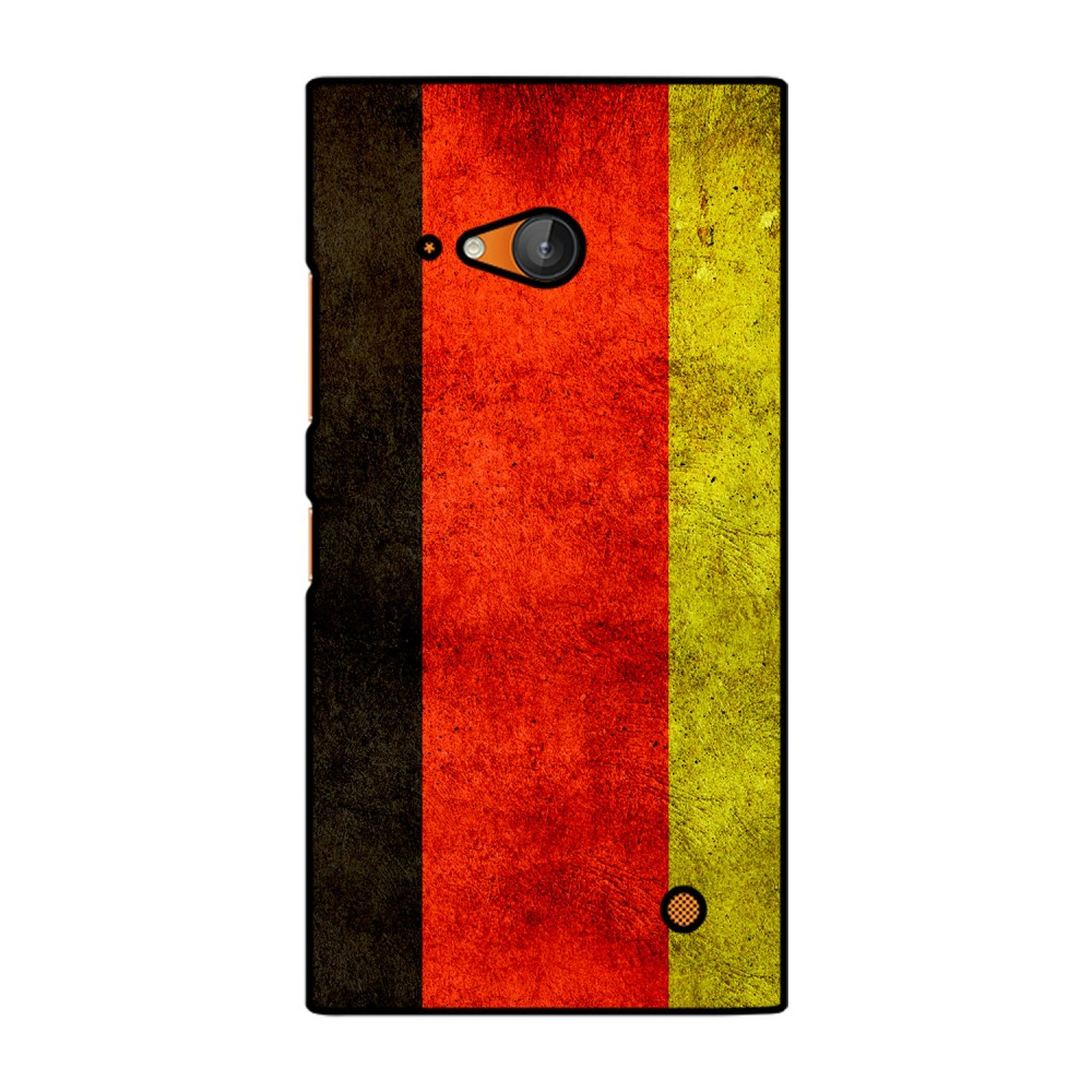 German Flag Pattern Printed Nokia Mobile Case