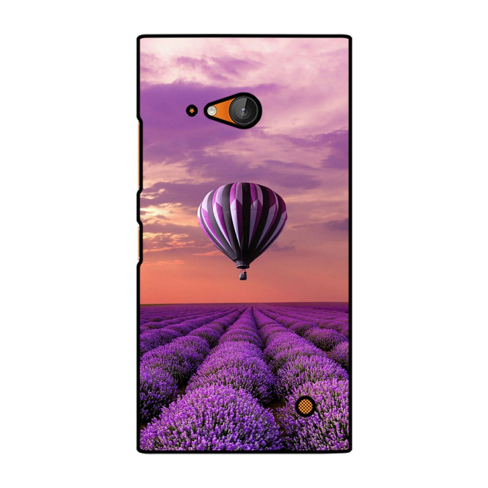 Purple Parashute Printed Nokia Mobile Case