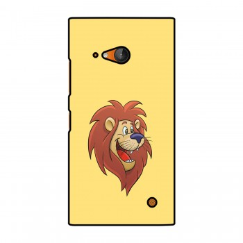 Cartoon Lion Printed Nokia Mobile Case