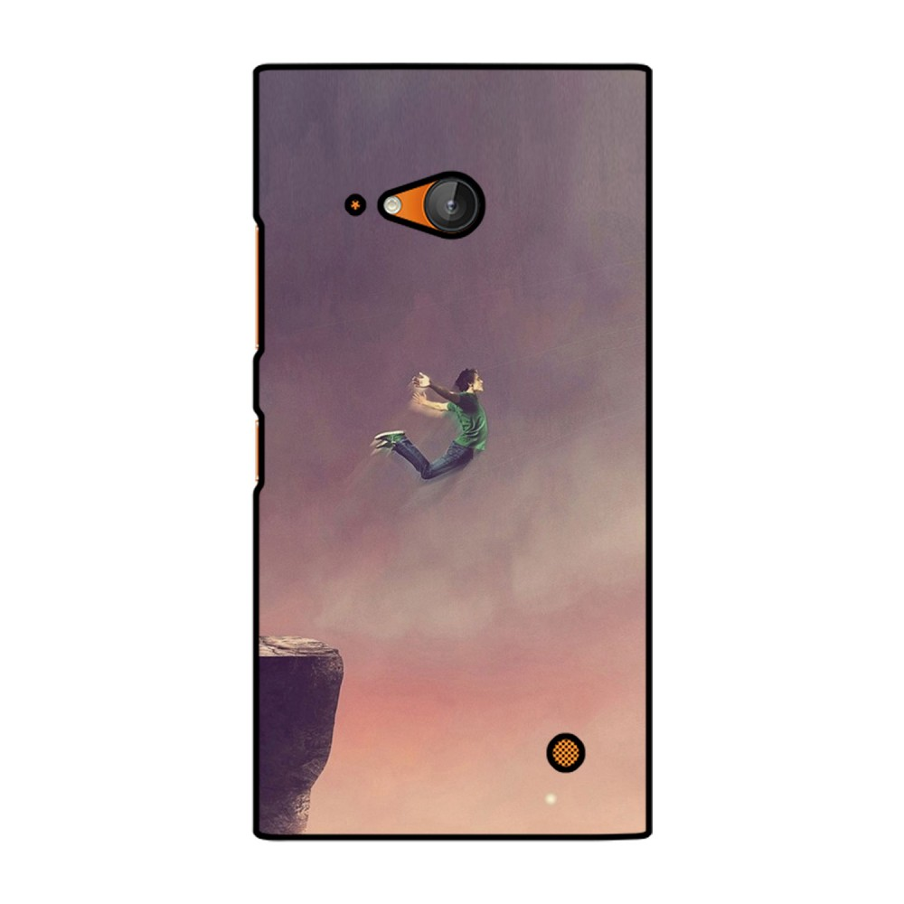 Boy Jumping Printed Nokia Mobile Case