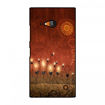 Glowing Bulbs Printed Nokia Mobile Case