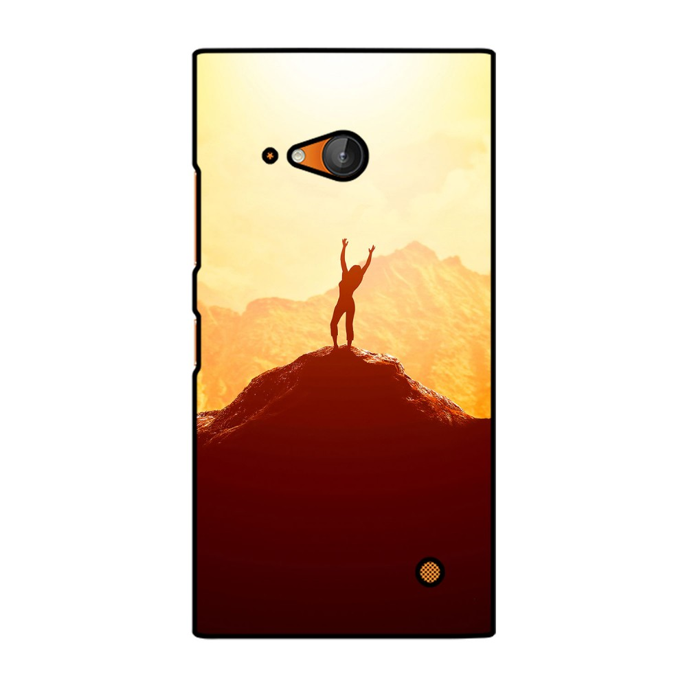 Woman On Hill Printed Nokia Mobile Case