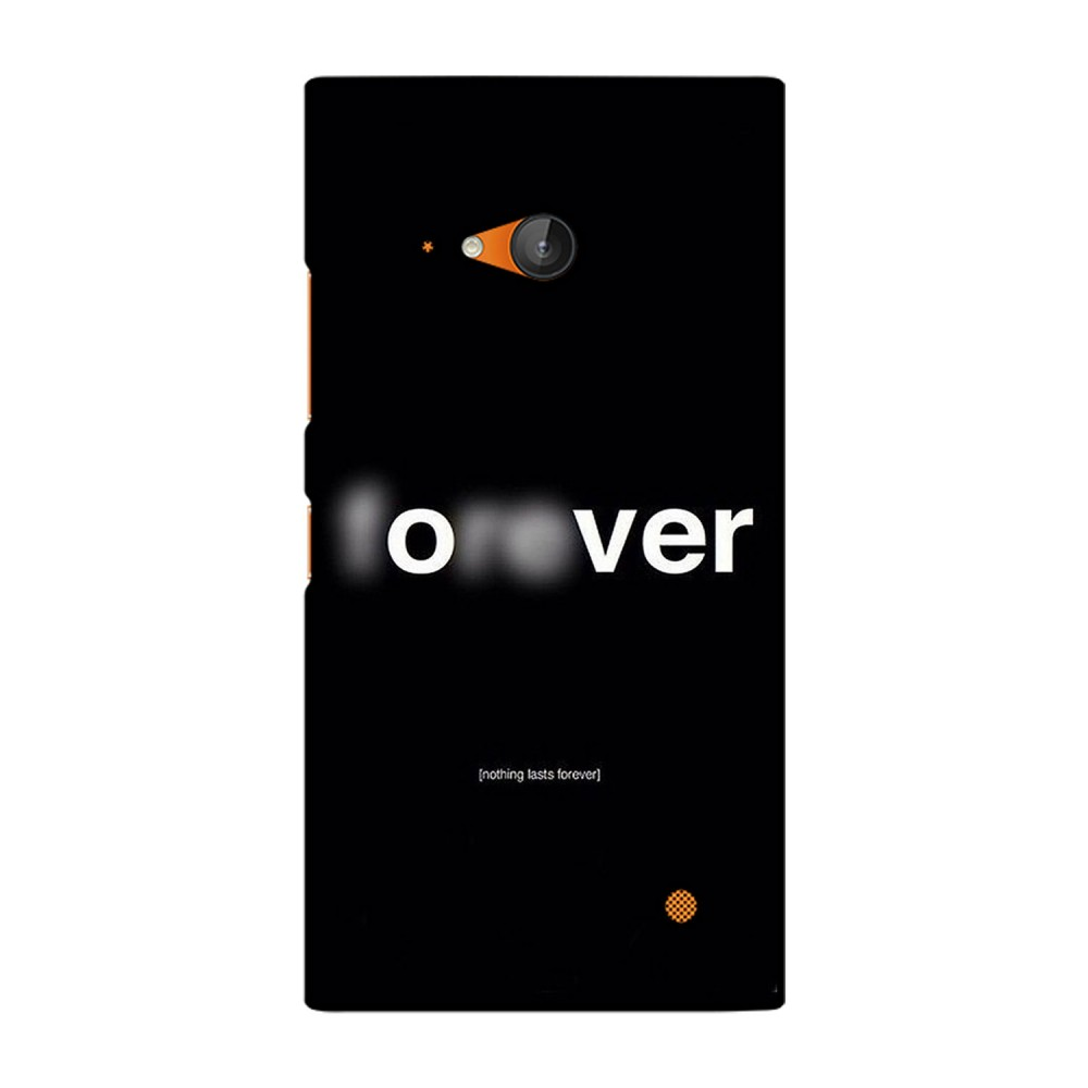 Forever / Over Printed Nokia Mobile Case
