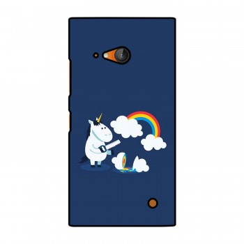 Unicorn with Rainbow Printed Nokia Mobile Case