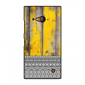 Yellow Wooden Pattern Printed Nokia Mobile Case