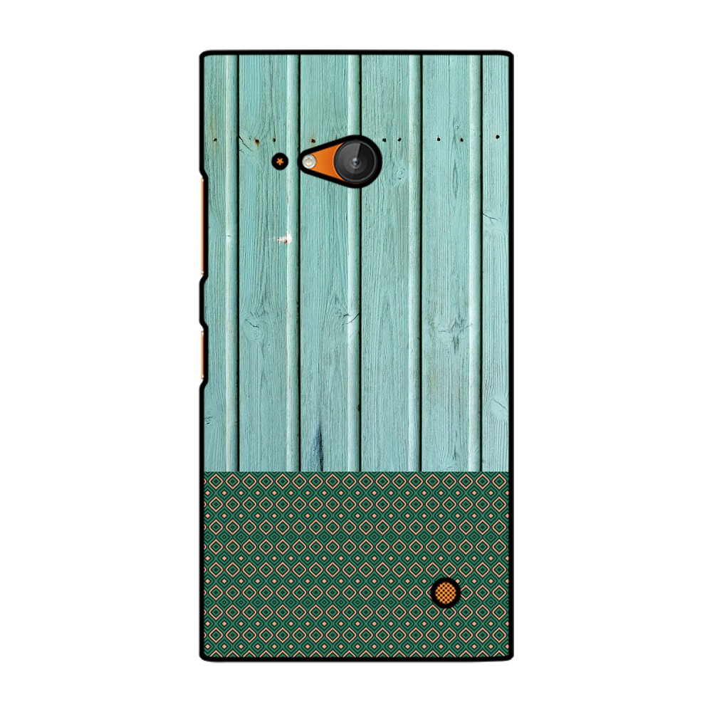 Green Wooden Pattern Printed Nokia Mobile Case