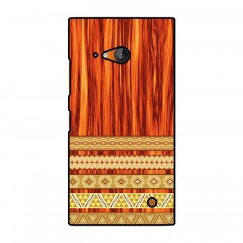 Orange Wooden Pattern Printed Nokia Mobile Case