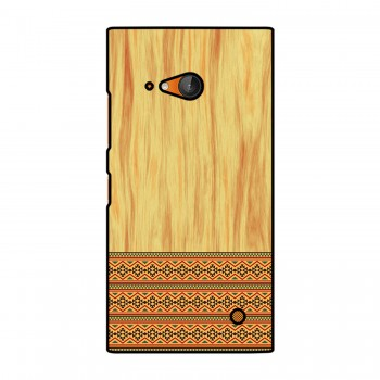 Brown Wooden Pattern Printed Nokia Mobile Case