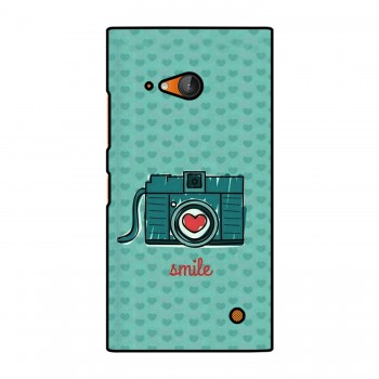 Camera Smile Printed Nokia Mobile Case