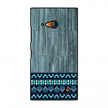 Blue Wooden Pattern Printed Nokia Mobile Case