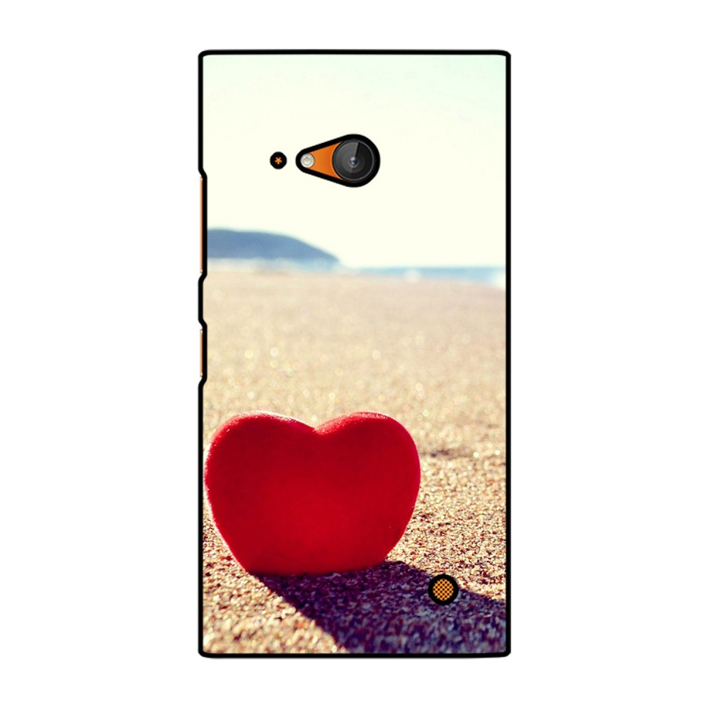 Red Heart Printed Nokia Mobile Case