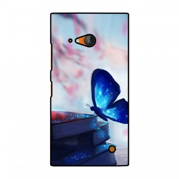 Magic Blue Butterfly Printed Nokia Mobile Case
