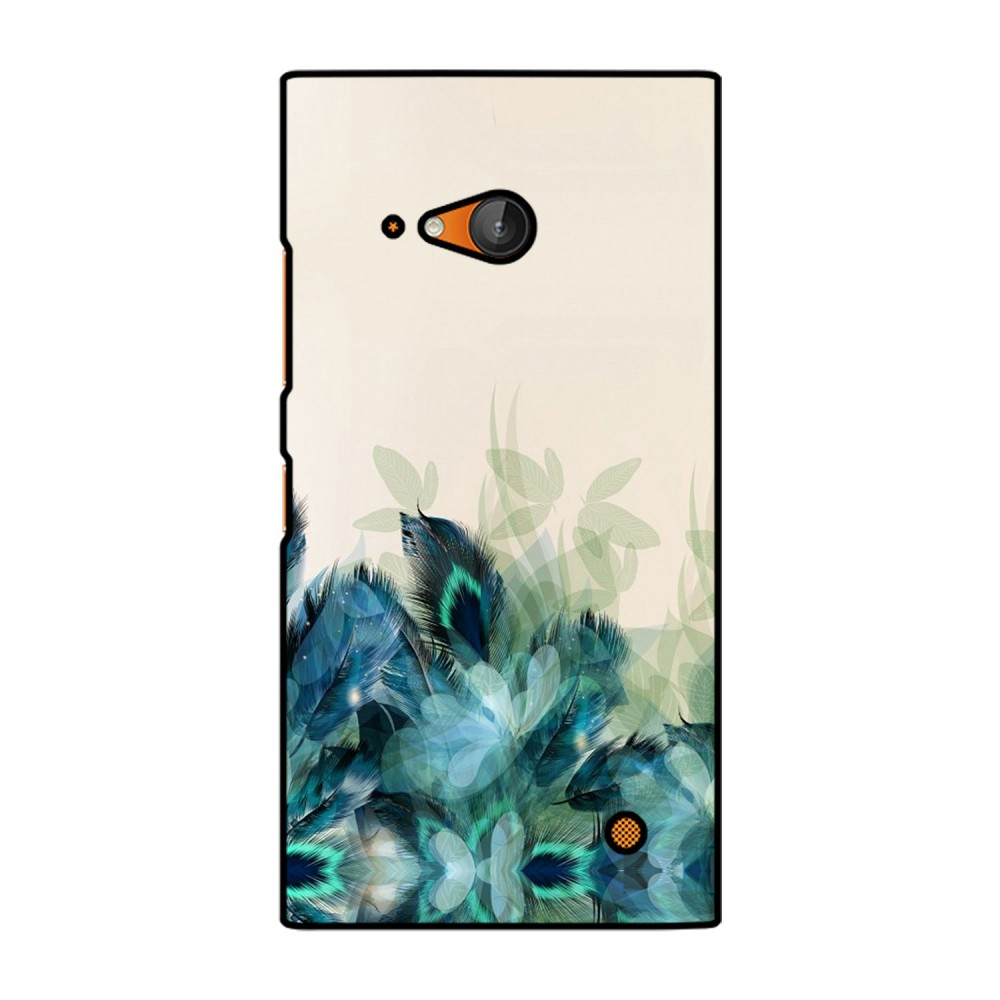 Peacock Feathers Printed Nokia Mobile Case