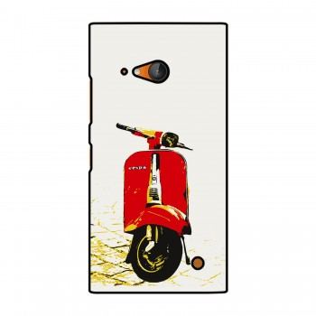 Red Vespa Printed Nokia Mobile Case