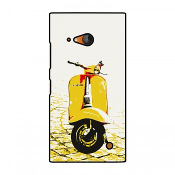 Yellow Vespa Printed Nokia Mobile Case