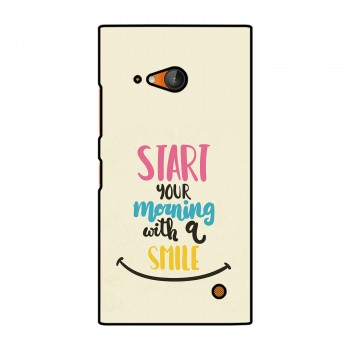 Morning Smile Printed Nokia Mobile Case