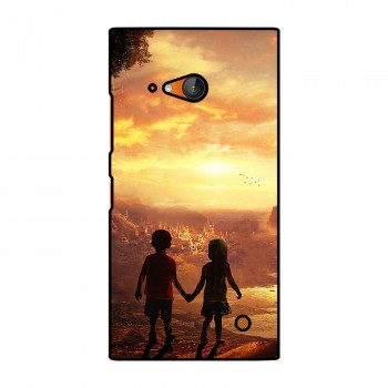 Kids Couple Printed Nokia Mobile Case