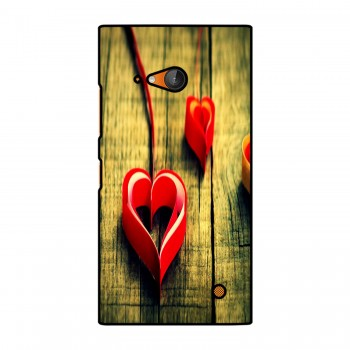 Heart Ribbon Printed Nokia Mobile Case