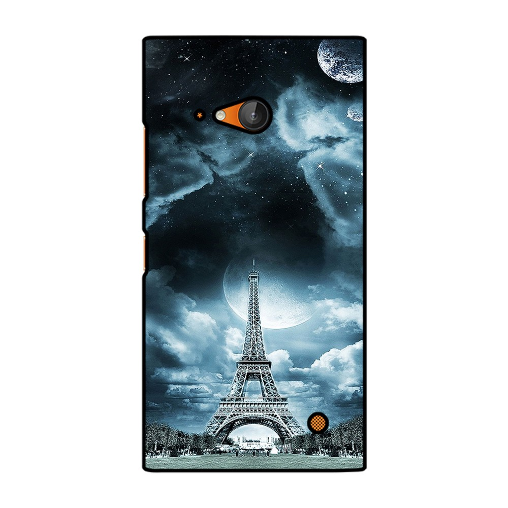 Eiffel Tower With Clouds Printed Nokia Mobile Case