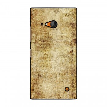 Brown Plain Background Printed Nokia Mobile Case