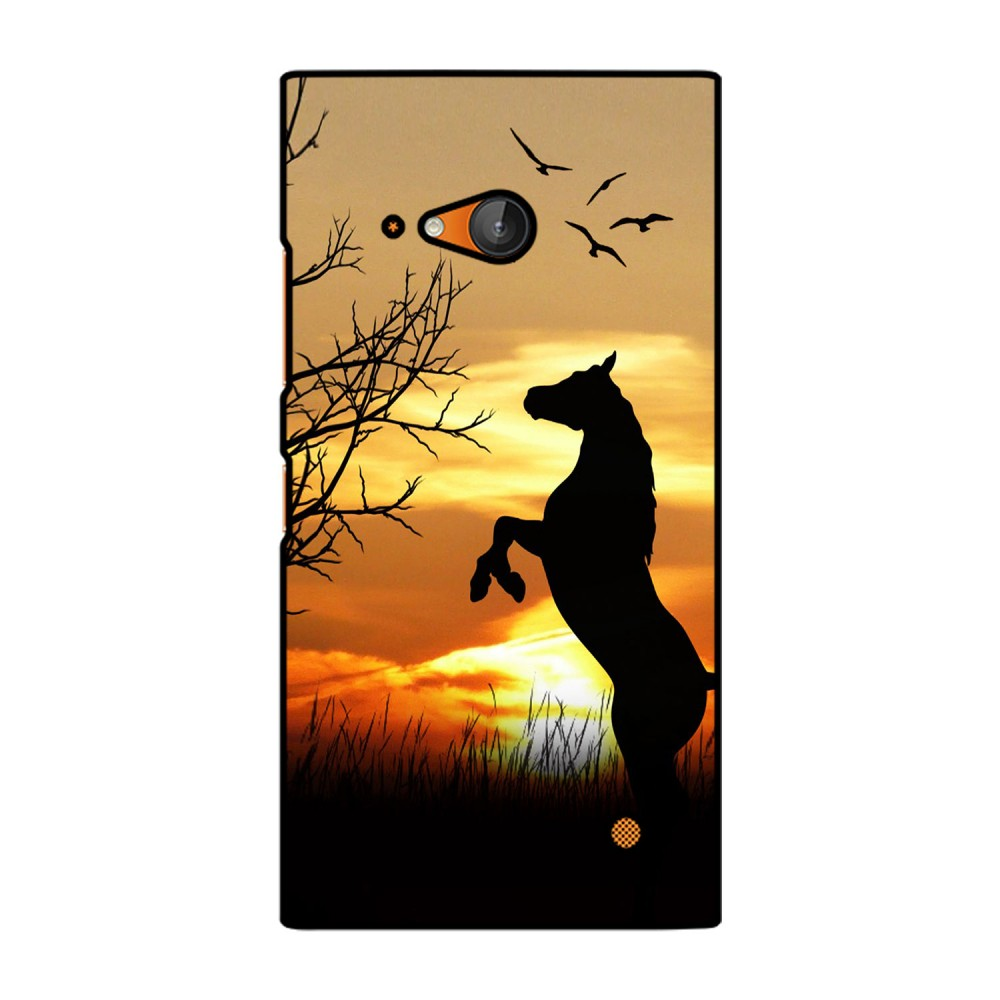 Sunset With Horse Printed Nokia Mobile Case