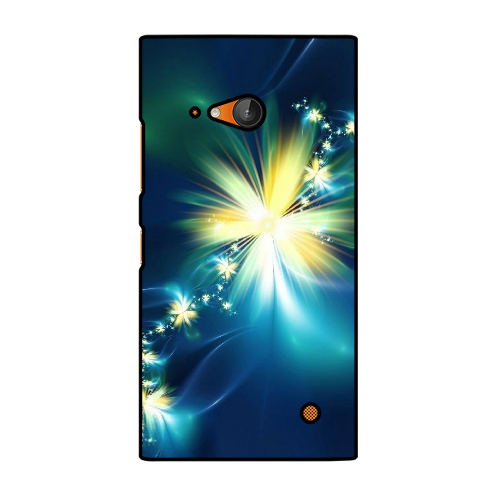 Glowing Flowers Printed Nokia Mobile Case