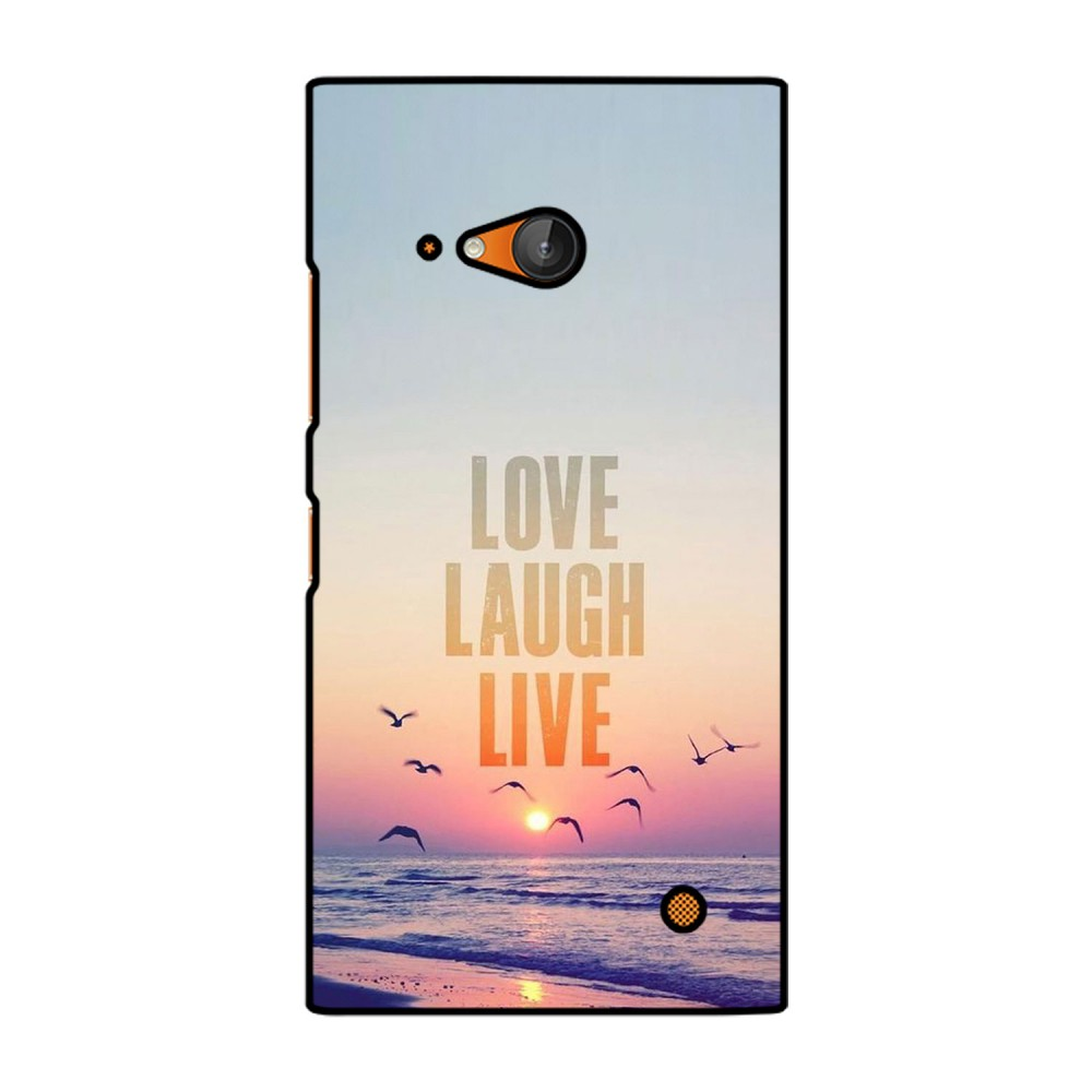 Love Laugh Live Printed Nokia Mobile Case