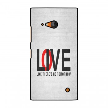 Love / Live Text Printed Nokia Mobile Case