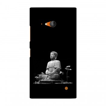 Peace Buddha Printed Nokia Mobile Case