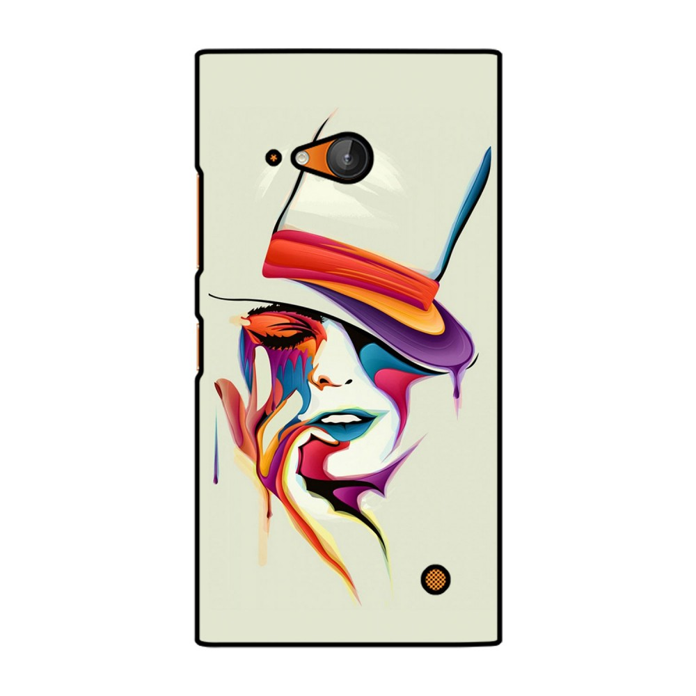 Colorful Woman Printed Nokia Mobile Case