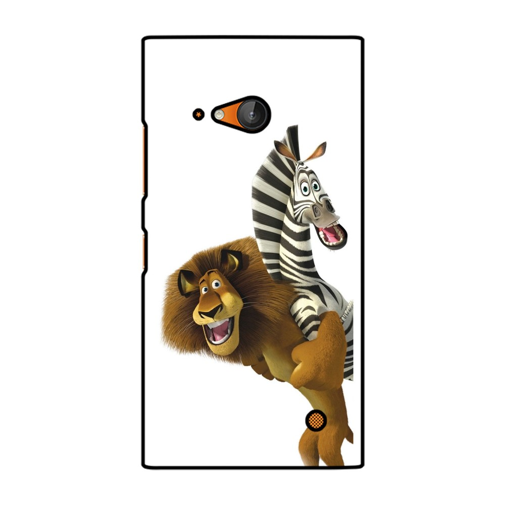 Cartoon Animals Printed Nokia Mobile Case