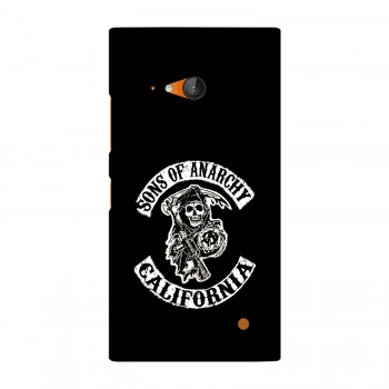 Sons Of Anarchy California Printed Nokia Mobile Case
