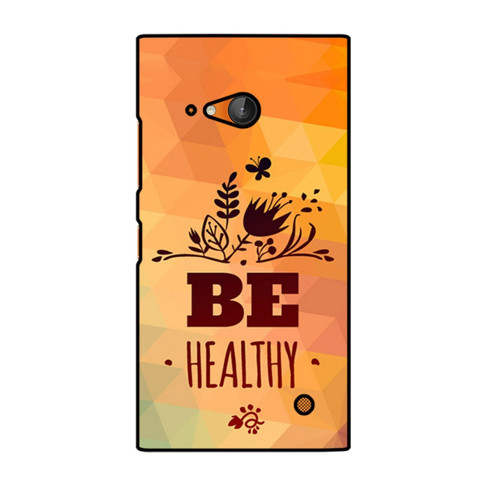 Be Healthy Printed Nokia Mobile Case