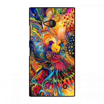 Colorful Peacocks Printed Nokia Mobile Case