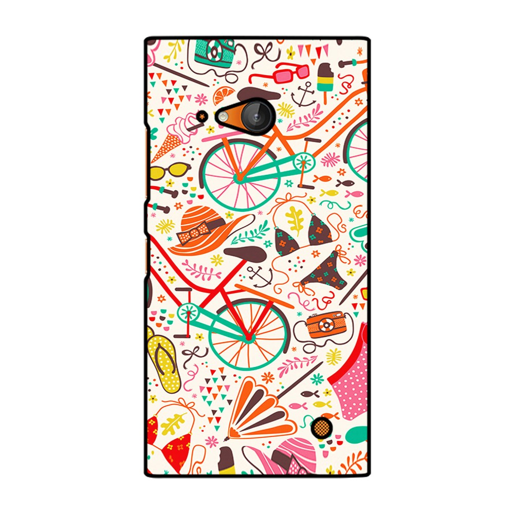 Doodles Pattern Printed Nokia Mobile Case