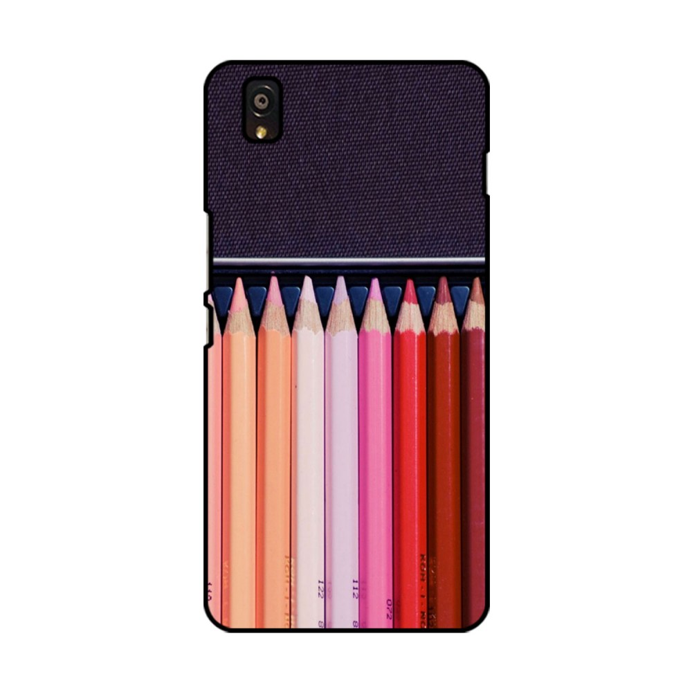 Color Pencils Printed OnePlus Mobile Case