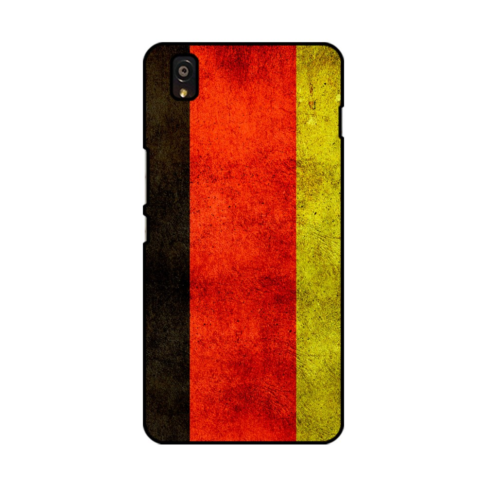 German Flag Pattern Printed OnePlus Mobile Case