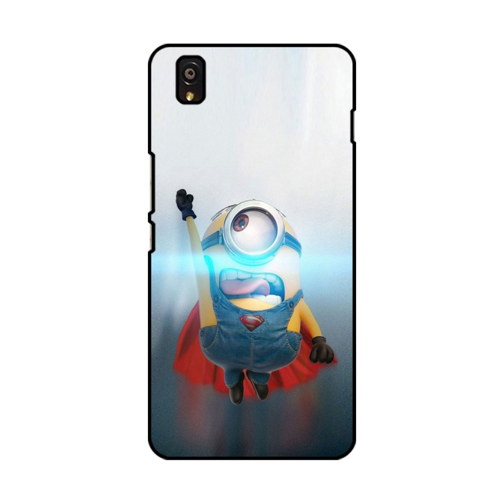 Flying Minion Printed OnePlus Mobile Case