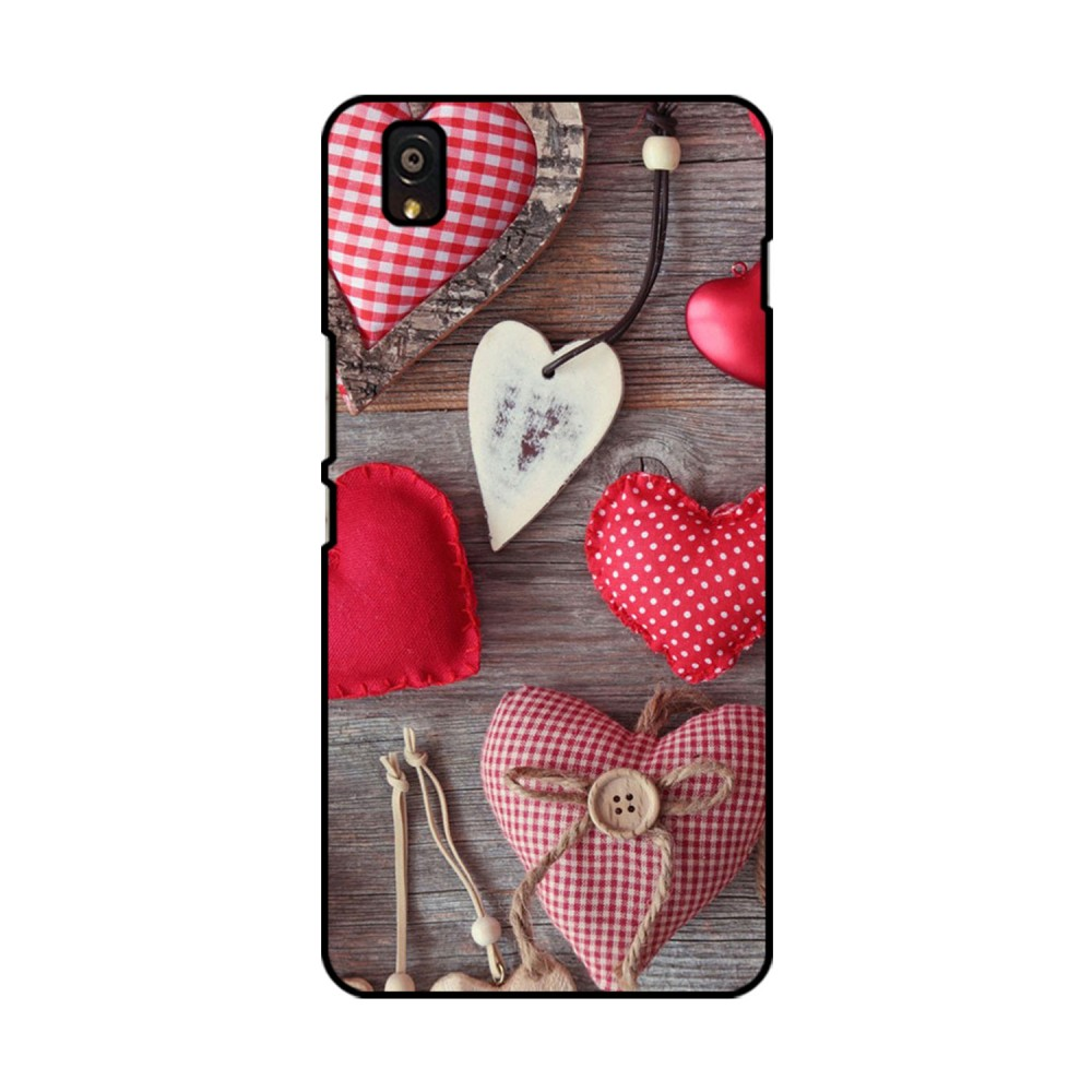 Hearts Printed OnePlus Mobile Case